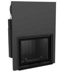 Ενεργειακό Τζάκι Ξύλου Αερόθερμο FELIX 16 KW / 140-160m² Ίσιο - Συρόμενη Πόρτα Kratki