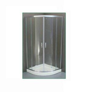 Καμπίνα Μπάνιου Romeo Transp 80 x 80 x 180h cm