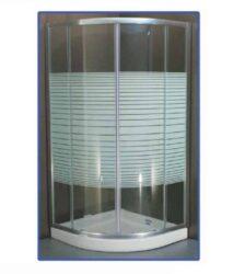 Καμπίνα Μπάνιου Bufon Γωνιακή 80 x 80 x 180h cm