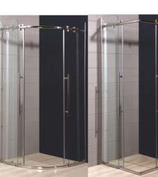 Καμπίνα Μπάνιου Long Life Ημικυκλική 90 x 90 x 193h cm
