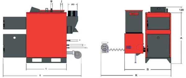 ΛΕΒΗΤΑΣ ΠΥΡΗΝΟΞΥΛΟΥ-PELLET-ΒΙΟΜΑΖΑΣ OPTIMUS BIO TD/S 60 (51000 kcal) THERMODYNAMIC