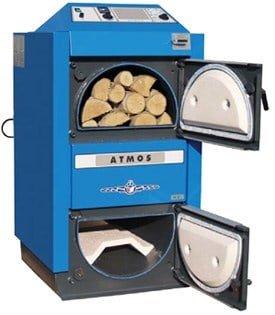 Λέβητας Πυρόλυσης Ξύλου Atmos DC 40 SX 35000 kcal