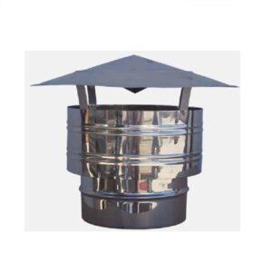 Καπέλο Αντιανεμικό Θηλυκό Διπλού Τοιχώματος Φ200-250 Artkamin