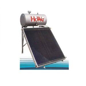Ηλιακός Θερμοσίφωνας Τριπλής ενεργείας 120lt Howat Inox-Επιλεκτικός Συλλέκτης 2 m²