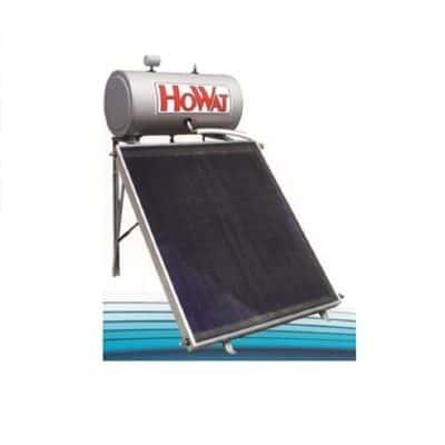 Ηλιακός θερμοσίφωνας 160lt τριπλής ενεργείας Howat-Επιλεκτικός Συλλέκτης 2 m2