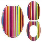 Καπάκι-Κάλυμμα Λεκάνης Ξύλινο Trendy Line Funky