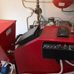 Πολυμηχάνημα Βιομάζας για μετατροπή Λέβητα Ξύλου σε καύση Πυρήνα Κουκούτσι Πέλλετ