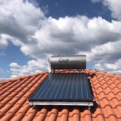 Εγκατάσταση Ηλιακού Θερμοσίφωνα Calpak Κεραμοσκεπής