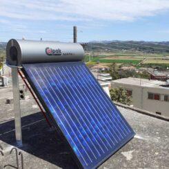 Εγκατάσταση Ηλιακού Θερμοσίφωνα Calpak Mark 4 160lt